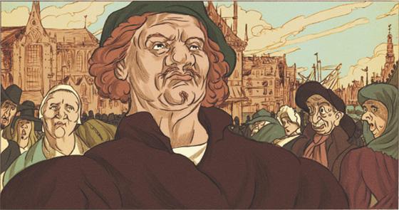 Rembrandt. Illustratie: Typex
