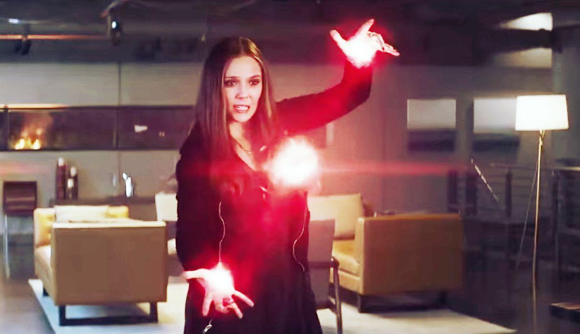 Scarlet Witch vecht terug.