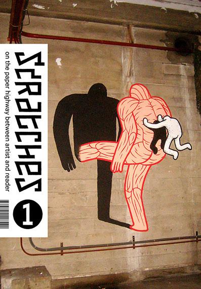 Scratches cover door Daan Botlek.