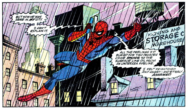 Uit Peter Parker, The Spectacular Spider-Man 139.