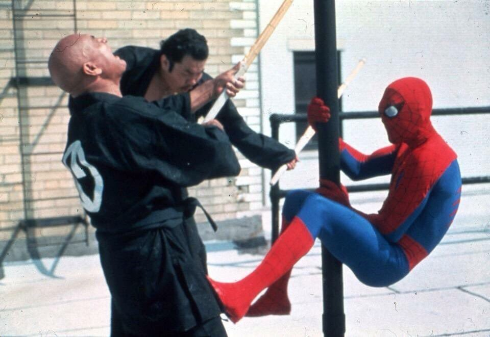 spider man 70s kick ninjas