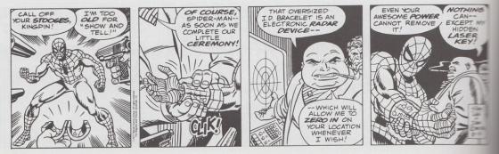 spider-man enkelband