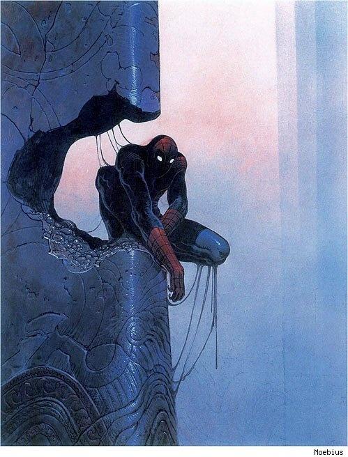 spider-man-moebius