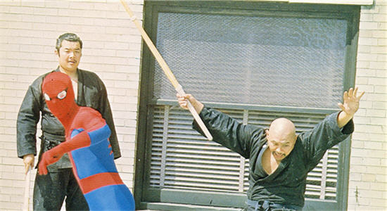 spiderman 70s ninjas