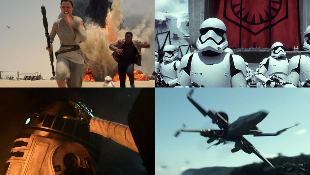 star wars ep 07 collage