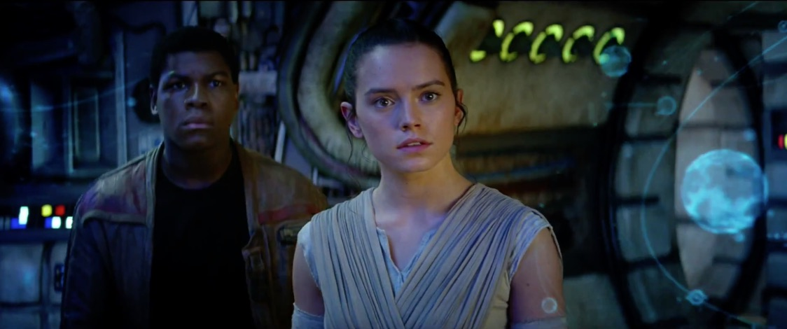 Finn en Rey.