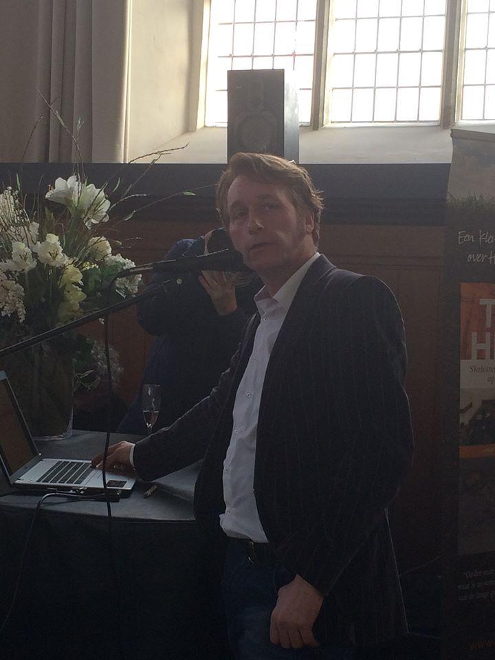 Tonio van Vugt in actie. Foto: Natasja van Loon.