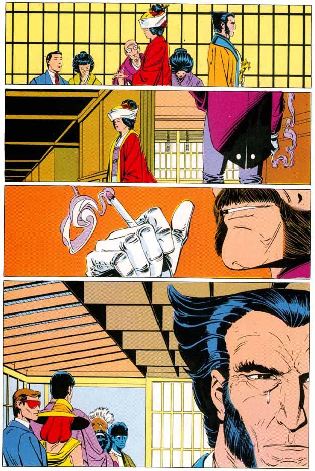 Wolverine zien we niet zo vaak huilen