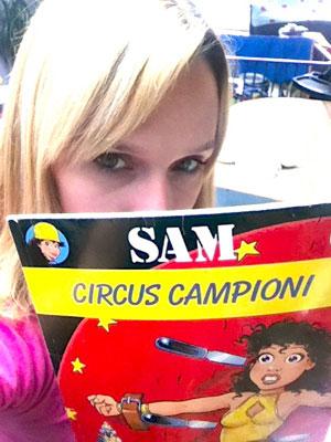 Veerle en Sam.