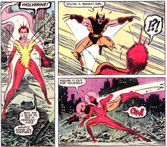 Wolverine versus Phoenix