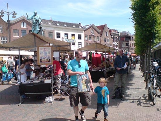 Stripdagen Haarlem 2010 veel gezinnen