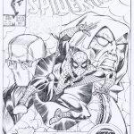 Spider-Man-cover prachtig hertekend