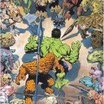 Hulk & Thing door Bernie Wrightson