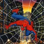 Spidey's web: De Hulk en Spider-Man geschilderd door Bob Larkin