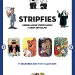Expo: Stripfiguren maken een selfie
