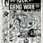 Spidey's web: Alternatieve cover voor de Gangsteroorlog