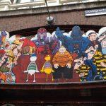 Alle stripfiguren bij elkaar