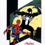 Spider-Mans buitenaardse kostuum