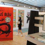 Coverkunst in Stripmuseum Brussel