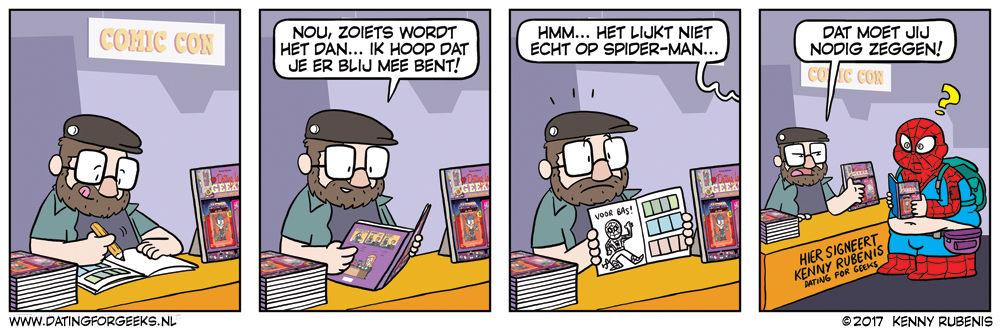 Dating for geeks comic
