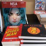 Spider-Man bij de Striep en FNAC