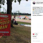 Spider-Man op vakantie