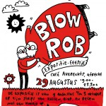 Blowrob expo in café Averechts