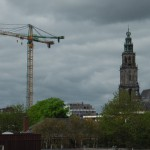 Toerist in Groningen