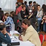 Jonge stripmakers ontmoeten uitgevers in het Belgisch Stripmuseum
