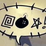 Daily Webhead Video: Frits Jonker's Comic Balloon Photoshoot
