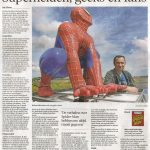 Interview over superhelden, geeks en fans