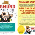 Sigmund krijgt zijn eigen pop-up store