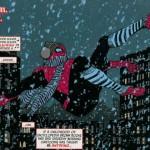Spidey's web: Een bijna bevroren Spider-Man