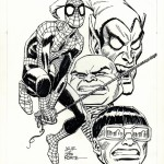 Spidey's web: Spider-Man getekend door de Romitas